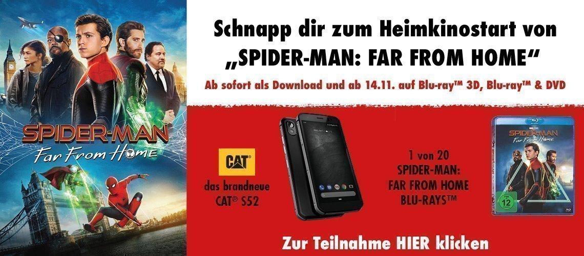Spidermann: Far From Home - Falken Gewinnspiel 2019